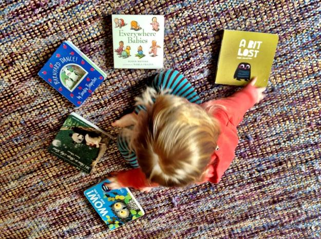 Arthur with books
