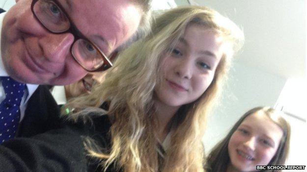 gove selfie
