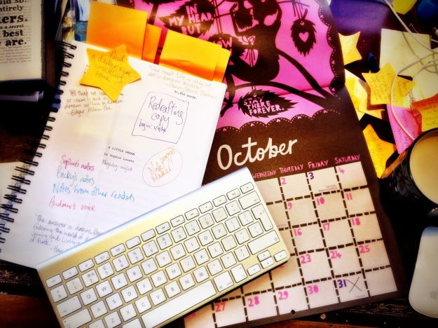 Editing deadlines